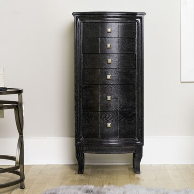 Bethena Jewelry Armoire with Mirror
