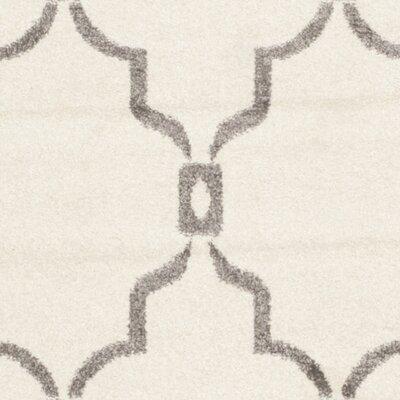 Maritza Ivory/Grey Outdoor Area Rug Rug Size: Rectangle 8 x 10