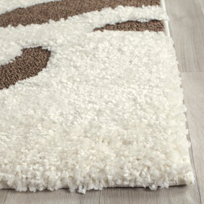 Eulalia Cream Area Rug Rug Size: Rectangle 8 x 10