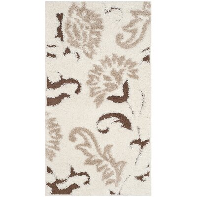 Eulalia Cream Area Rug Rug Size: Rectangle 23 x 4