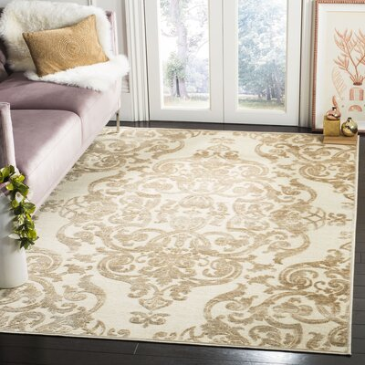 Maspeth Stone Contemporary Area Rug Rug Size: Rectangle 53 x 76