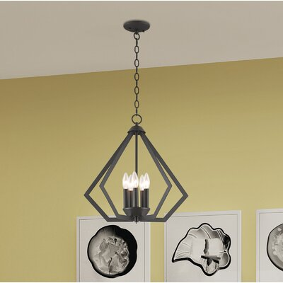 Borasisi 5-Light Foyer Pendant Finish: Bronze