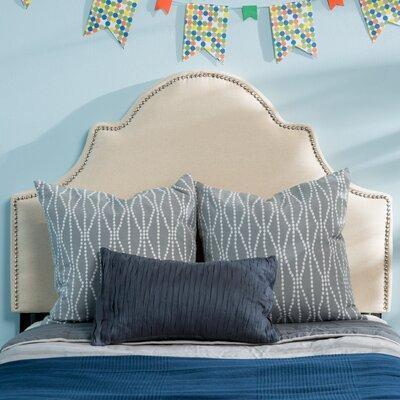 Corbett Upholstered Panel Headboard Upholstery: Beige, Size: Full/Queen