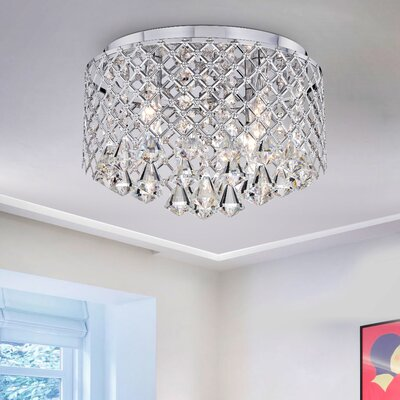 Delanie 4-Light LED Flush Mount