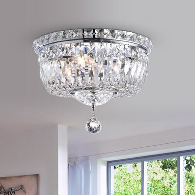 Viraj 3-Light Flush Mount