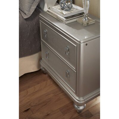Desirat 2 Drawer Nightstand