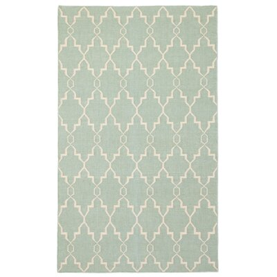 Rickman Blue Area Rug Rug Size: Rectangle 5 x 8