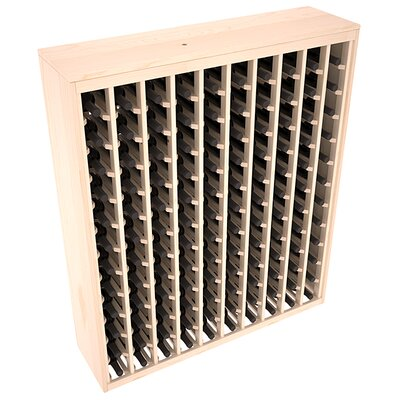Karnes Pine Deluxe 120 Bottle Floor Wine Rack Finish: Natural Satin