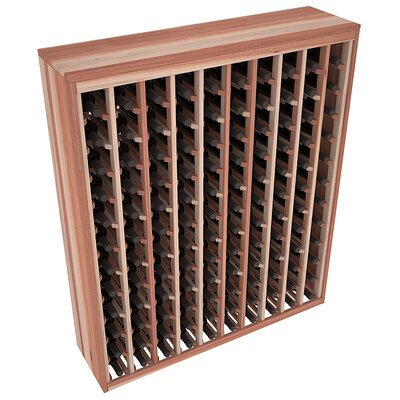 Karnes Redwood Deluxe 120 Bottle Floor Wine Rack Finish: Natural