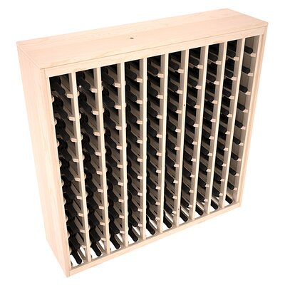 Karnes Pine Deluxe 100 Bottle Floor Wine Rack Finish: Natural Satin