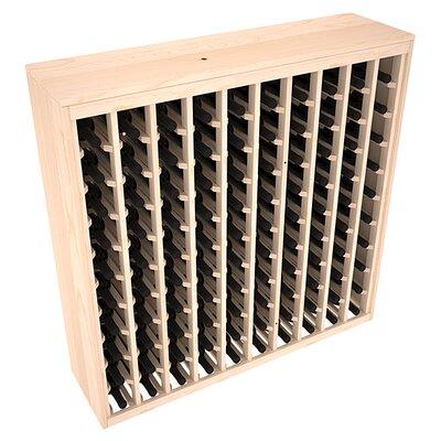 Karnes Pine Deluxe 100 Bottle Floor Wine Rack Finish: Natural