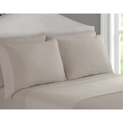 Richfield Rayon from Bamboo 250 Thread Count Sheet Set Size: Queen, Color: Sand