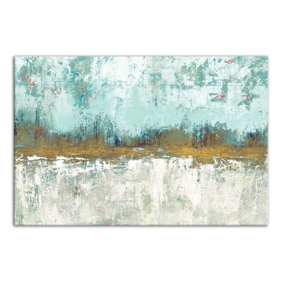 'Abstract Grove Landscape' Painting Print on Wrapped Canvas