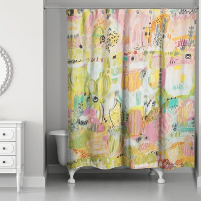 Goley Garden Shower Curtain