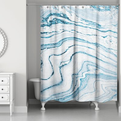 Bellicent� Asenath Marble Shower Curtain