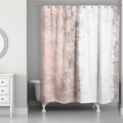 Aspasia� Marble Shower Curtain