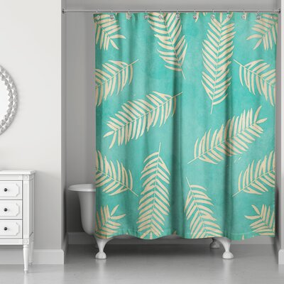 Johnathan Fern Pattern Shower Curtain