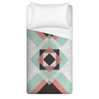Reading Geometric Duvet Cover Size: Full/Queen