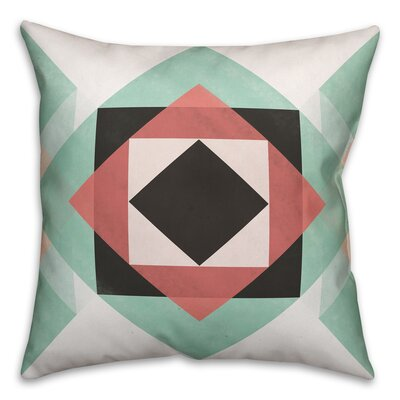 Rehoboth Geometric Throw Pillow Size: 18 x 18