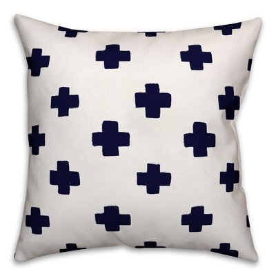 Norman Swiss Cross Throw Pillow Size: 20 x 20