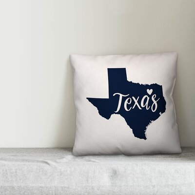 Texas Pride Throw Pillow
