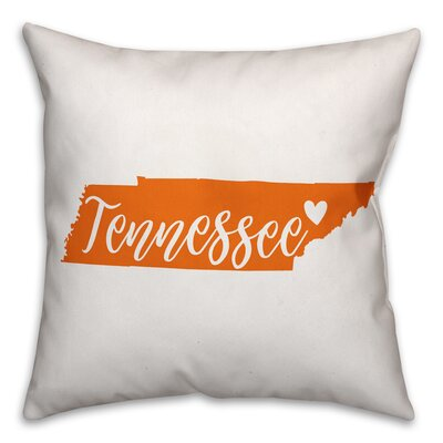 Tennessee Pride Throw Pillow