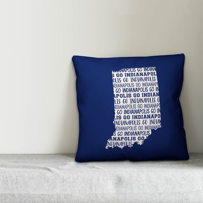 Indiana Go Team Throw Pillow