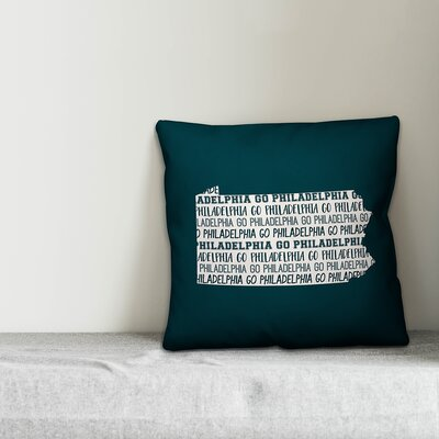 Pennsylvania Go Team Throw Pillow