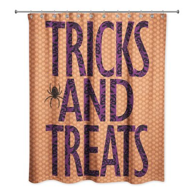 Tricks and Treats Shower Curtain