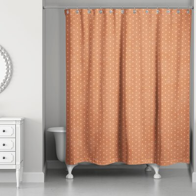 Shortwood Polka Dots Shower Curtain