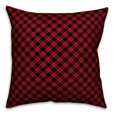 Patro Gingham Buffalo Throw Pillow Size: 16 x 16, Type: Pillow Cover