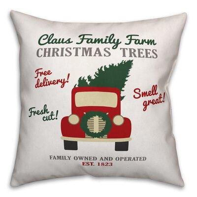 Claus Family Throw Pillow Type: Throw Pillow