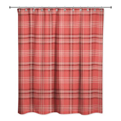 Patridge Plaid Shower Curtain