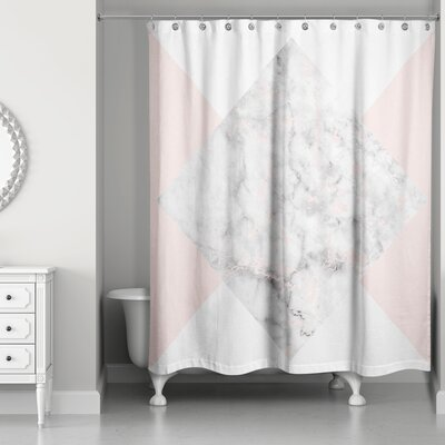Presler Marble Shower Curtain