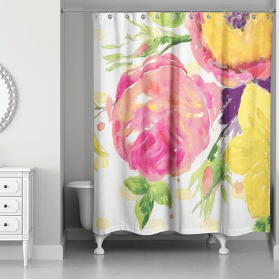Prince Floral Shower Curtain