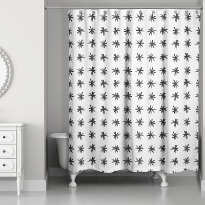 Norrell Asterisk Shower Curtain