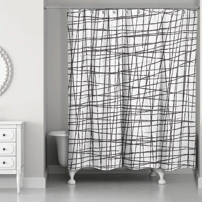 Rittenberry Scratch Shower Curtain