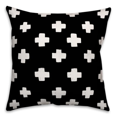 Principato Beason Swiss Cross Size: 16 x 16, Type: Throw Pillow