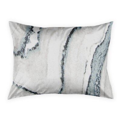 Kensa Marble Pillow Shams Size: Standard