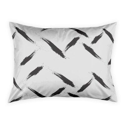 Norrell Diamond Plate Pillow Sham Size: Standard