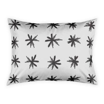 Norvell Nowak Asterisk Pillow Sham Size: Standard