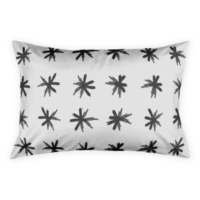Norrell Asterisk Pillow Sham Size: King