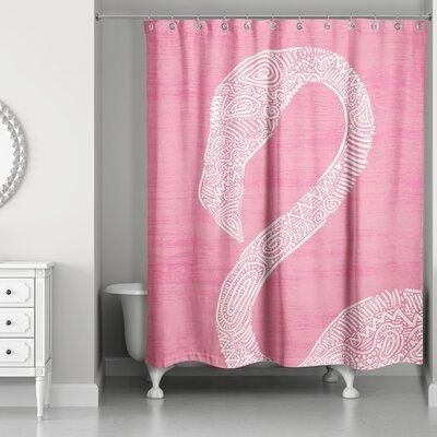 Rajesh Flamingo Shower Curtain