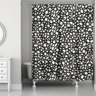 Pekalongan Pebble Shower Curtain