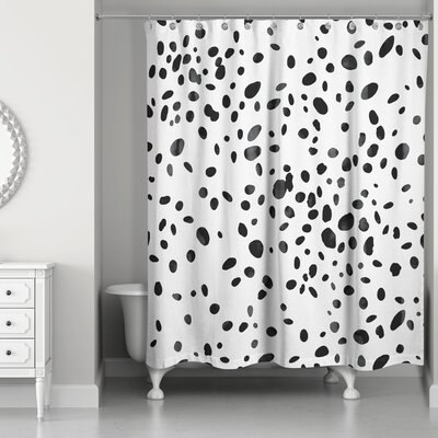 Pekanbaru Spots Shower Curtain