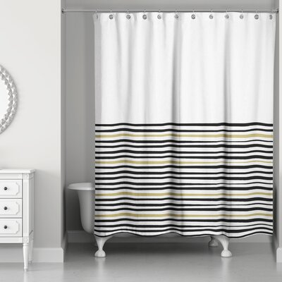 Pelagios Stripe Shower Curtain