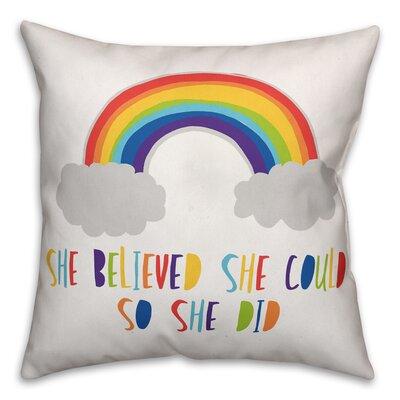 Valkenburg Believe Throw Pillow