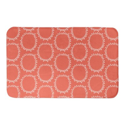 Elliott Bath Rug Color: Orange