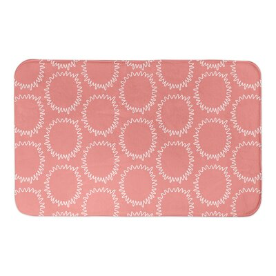 Elliott Bath Rug Color: Pink