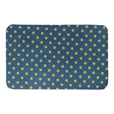 Saul Kid Bath Rug Color: Green